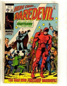 Daredevil # 62 FN Marvel Comic Book Karen Foggy Hell's Kitchen Defenders HY1