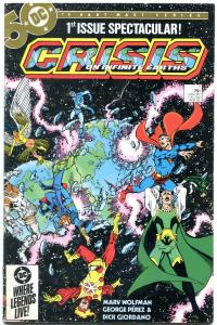 Crisis on Infinite Earths #1 1985- Perez- Wolfman F/VF