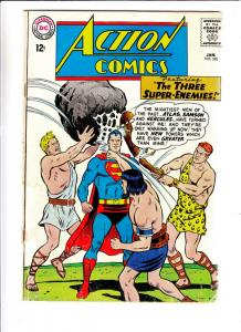 Action Comics #320 (Jan-65) VG Affordable-Grade Superman, Supergirl