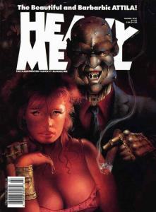 Heavy Metal #133 VF; Metal Mammoth | save on shipping - details inside