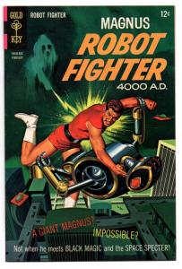 Magnus, Robot Fighter #21 (Feb 1968, Western Publishing) - Very Fine-