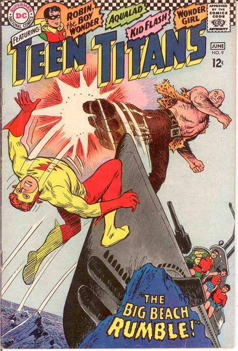 TEEN TITANS (1966) 9 F+  June 1967 COMICS BOOK