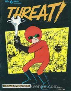 Threat! #6 FN; Fantagraphics | save on shipping - details inside