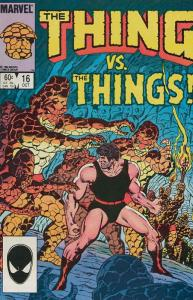 Thing, The #16 VF/NM; Marvel | save on shipping - details inside