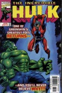 INCREDIBLE HULK (1962 Marvel Comics) #472 NM-