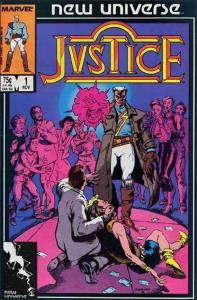 Marvel JUSTICE (1986 Series) #1 FN