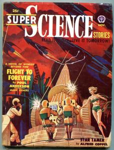 Super Science Stories November 1950-Alfred Coppel- Poul Anderson FN