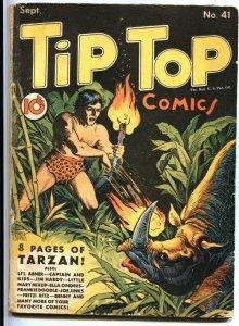 TIP TOP #41-1939-TARZAN'S ORIGIN BY REX MAXON-FRITZI RITZ-CAPTAIN AND THE KIDS-R