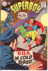 SUPERBOY 151 GOOD NEAL ADAMS COVER   October 1968 COMICS BOOK