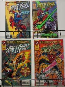 WEB OF SCARLET SPIDER (1995) 1-4