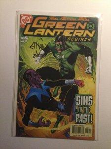Green Lantern Rebirth 5 Near Mint Nm Signed Ethan Van Sciver Dc Comics