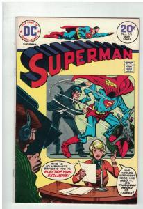 SUPERMAN 275 VF  May 1974 Can't take it anymore