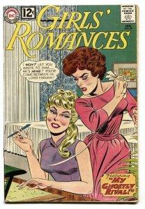 GIRLS' ROMANCES #89 comic book 1962-DC ROMANCE-G/VG