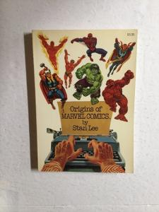 Origins Of Marvel Comics By Stan Lee Fireside TPB Nm Near Mint 9.4 Or Better