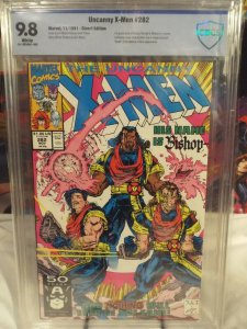 The Uncanny X-Men #282 - CBCS 9.8 - NM/MINT - 1st Appearance of Bishop