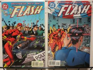 FLASH (1987) 120-121 Presidential Race  Mark Waid