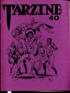 Tarzine #40 11/1985-Bill Ross-Edgar Rice Burroughs-Tarzan-collector info-VF