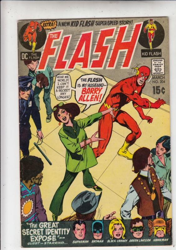 Flash, The #204 (Mar-71) VF/NM- High-Grade Flash