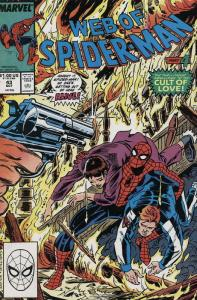 Web of Spider-Man, The #43 VF; Marvel | save on shipping - details inside