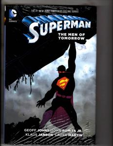Superman The Men Of Tomorrow SEALED DC Comics HARDCOVER Graphic Novel J287