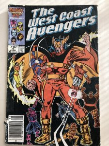 West Coast Avengers 9, GD, reader!