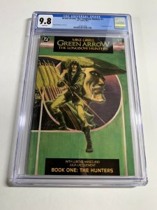 Green Arrow Longbow Hunters 1 Cgc 9.8 White Pages Dc Comics