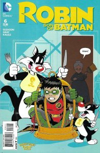 ROBIN SON OF BATMAN #6 LOONEY TUNES VARIANT.
