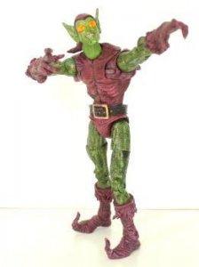 Figura Coleccion: DUENDE VERDE, Green Golblin - Spiderman (Marvel 2004)