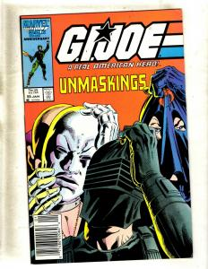 GI Joe # 55 VF/NM Marvel Comic Book Snake Eyes Storm Shadow American Hero WS9