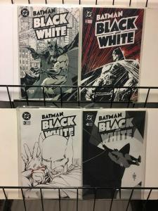 BATMAN BLACK & WHITE 1-4 the complete anthology series!