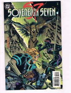 Sovereign Seven #3 VF DC Comics Comic Book Claremont Sept 1995 DE23