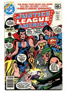 JUSTICE LEAGUE OF AMERICA #161 comic book 1978-ZATANNA-DC