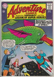 Adventure Comics #332 (May-65) VF+ High-Grade Legion of Super-Heroes (Saturn ...