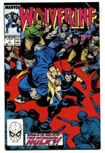 Wolverine #7-VF/NM-Marvel Comic Book-1989