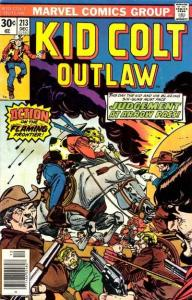 Kid Colt Outlaw #213, VF+ (Stock photo)
