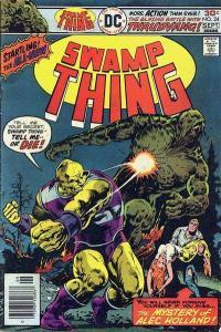 Swamp Thing (1972 series) #24, Fine+ (Stock photo)