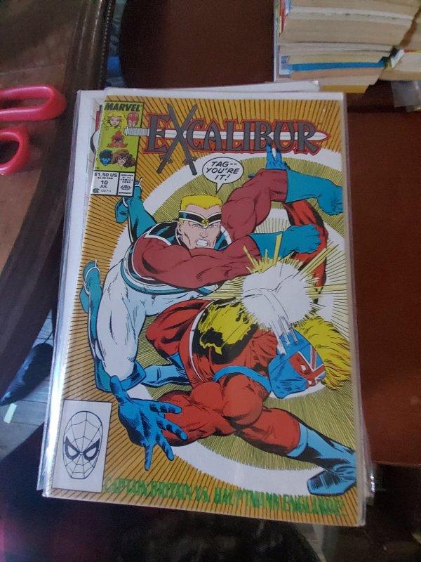 Excalibur (ES) #10 (1990)