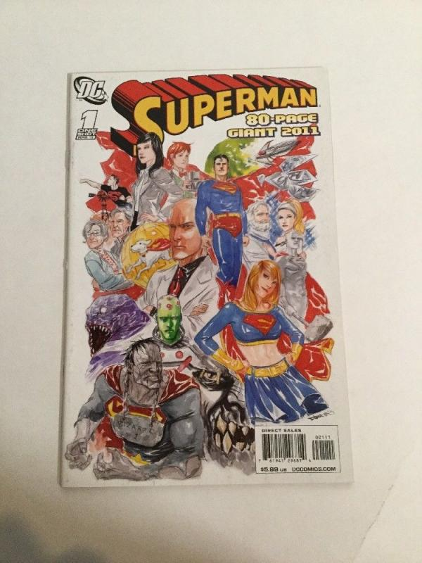 Superman One-Shot 80-page Giant 2011 NM Near Mint