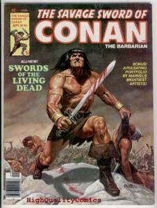 SAVAGE SWORD of CONAN #44, VF+, John Buscema, Living Dead, Tony DeZuniga