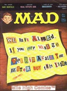 MAD (MAGAZINE) #184 BRITISH Very Good