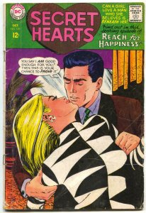 Secret Hearts #123 1967-Reach For Happiness G-