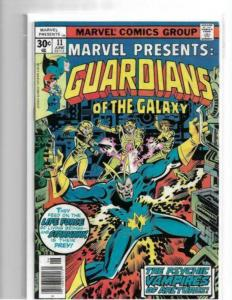 MARVEL PRESENTS #11 - NM - GUARDIANS OF THE GALAXY - HIGH GRADE BRONZE AGE KEY