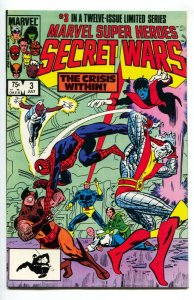 MARVEL SUPER HEROES SECRET WARS #3 1st Volana + Titania comic book NM-