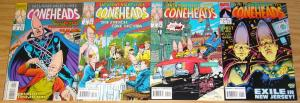 Coneheads #1-4 VF/NM complete series SATURDAY NIGHT LIVE terry collins SNL set