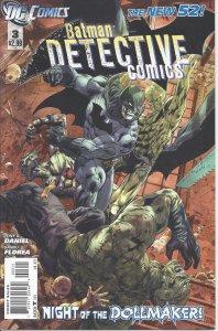 Batman Detective Comics #3 (Jan 2012) - Night of the Dollmaker - The New 52