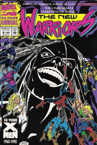 New Warriors (1990 series) Annual #3, NM (Stock photo)
