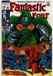 Fantastic Four #86, 3.0 or Better - Dr. Doom Appearance