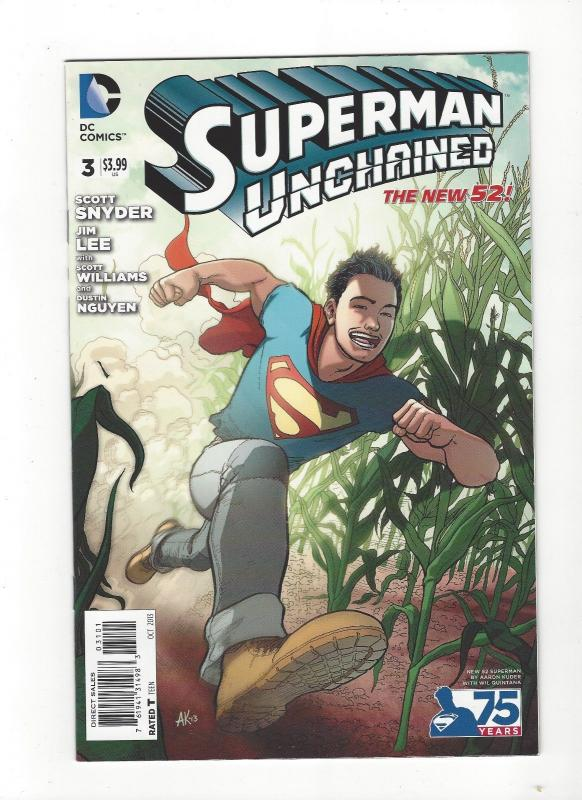 Superman Unchained #3  DC Comics New 52 Aaron Kuder Variant NM