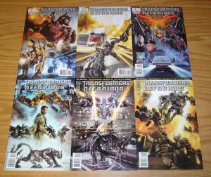 Transformers: Revenge of the Fallen - Nefarious #1-6 VF/NM complete series A set