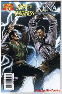 ARMY of DARKNESS / XENA #4, Warrior Princess,2008, VF+, more AOD in store